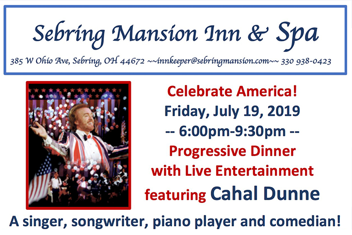 Cahal Dunne Celebrate America July 19