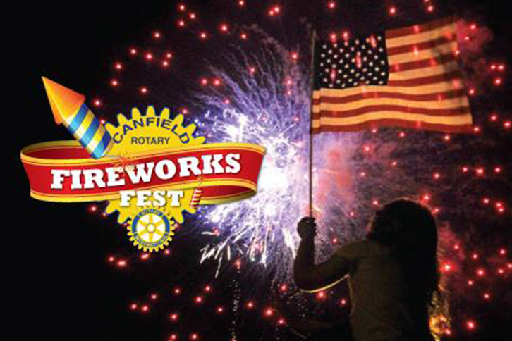 Canfield Rotary Fireworks Fest