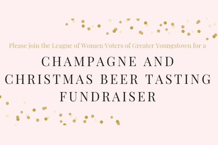 Champagne and Christmas Beer Tasting Fundraiser