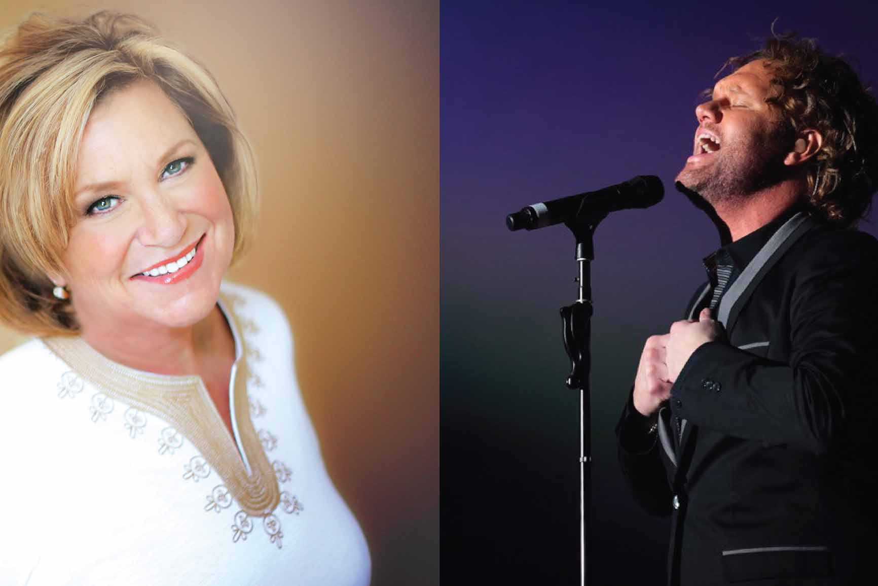 David Phelps and Sandi Patty