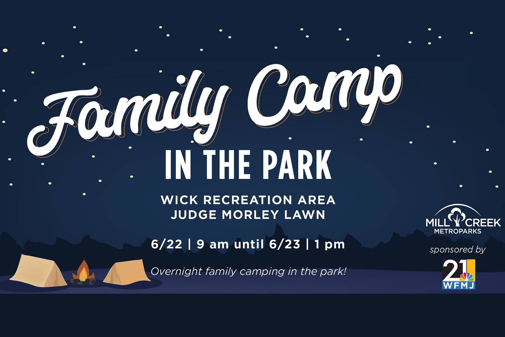 Family Camp in the Park