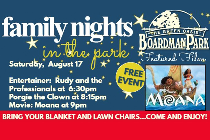 Family Night in the Park August
