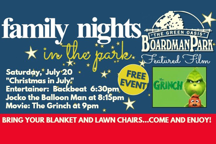 Family Night in the Park July