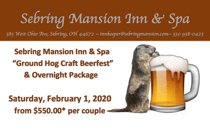 Groundhog Craft Beer Event Package