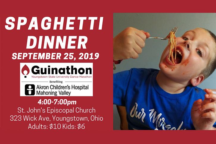 Guinathon Spaghetti Dinner