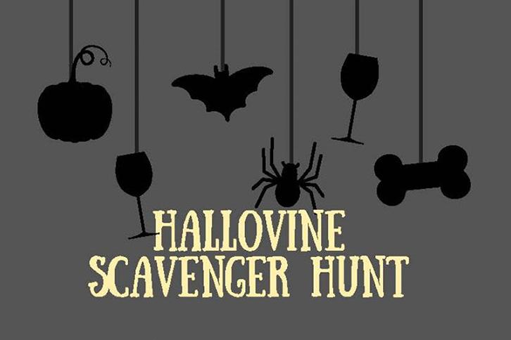 Hallovine Scavenger Hunt