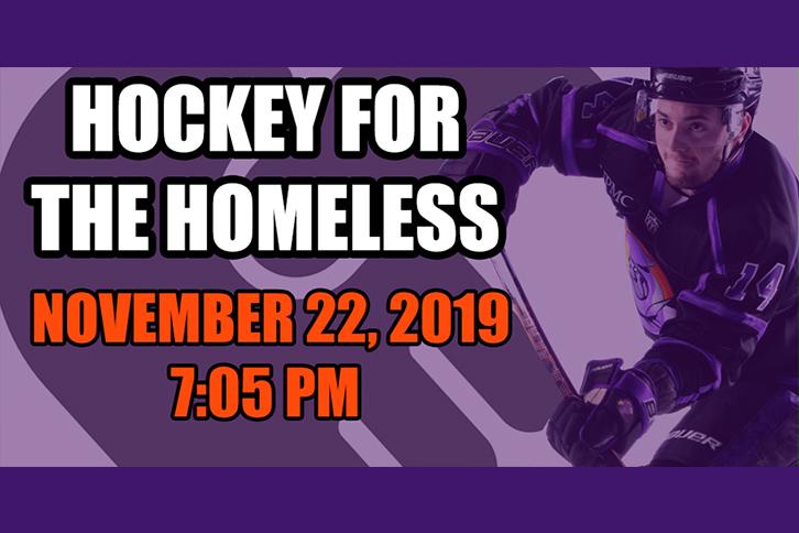 Hockey for the Homeless