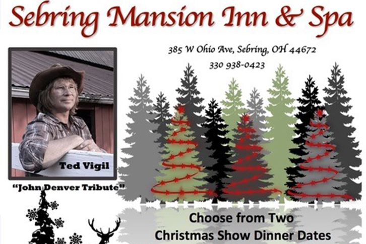 John Denver Christmas.John Denver Tribute Sebring Mansion Inn Spa Youngstown