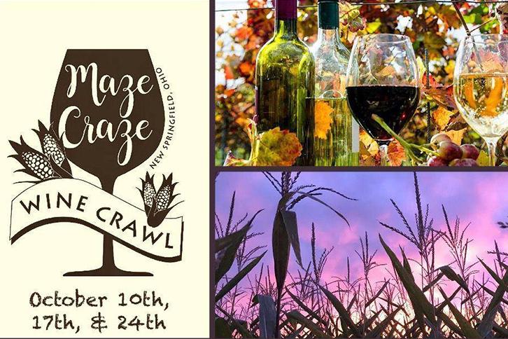 Maze Craze Wine Crawl
