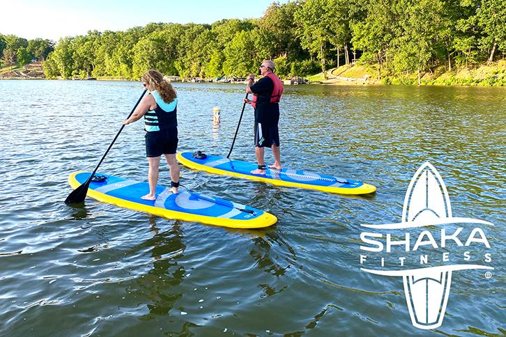 Paddle Boarding Lake Milton
