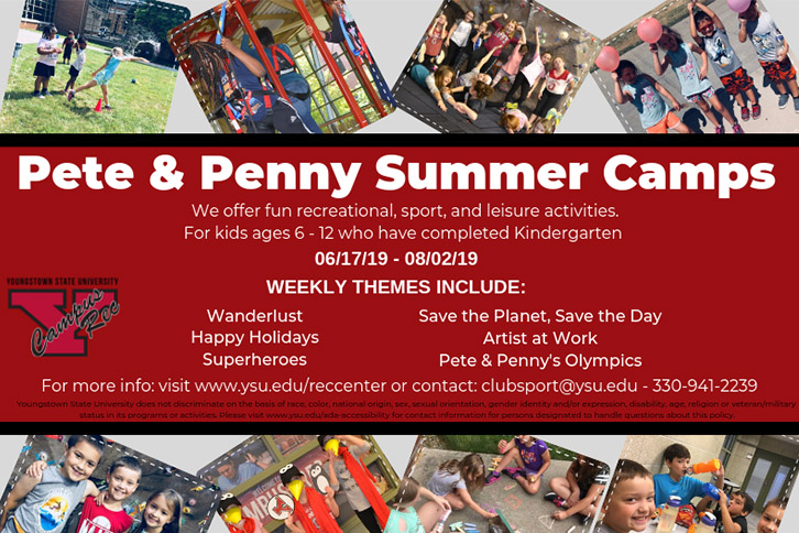 Pete & Penny Summer Camps