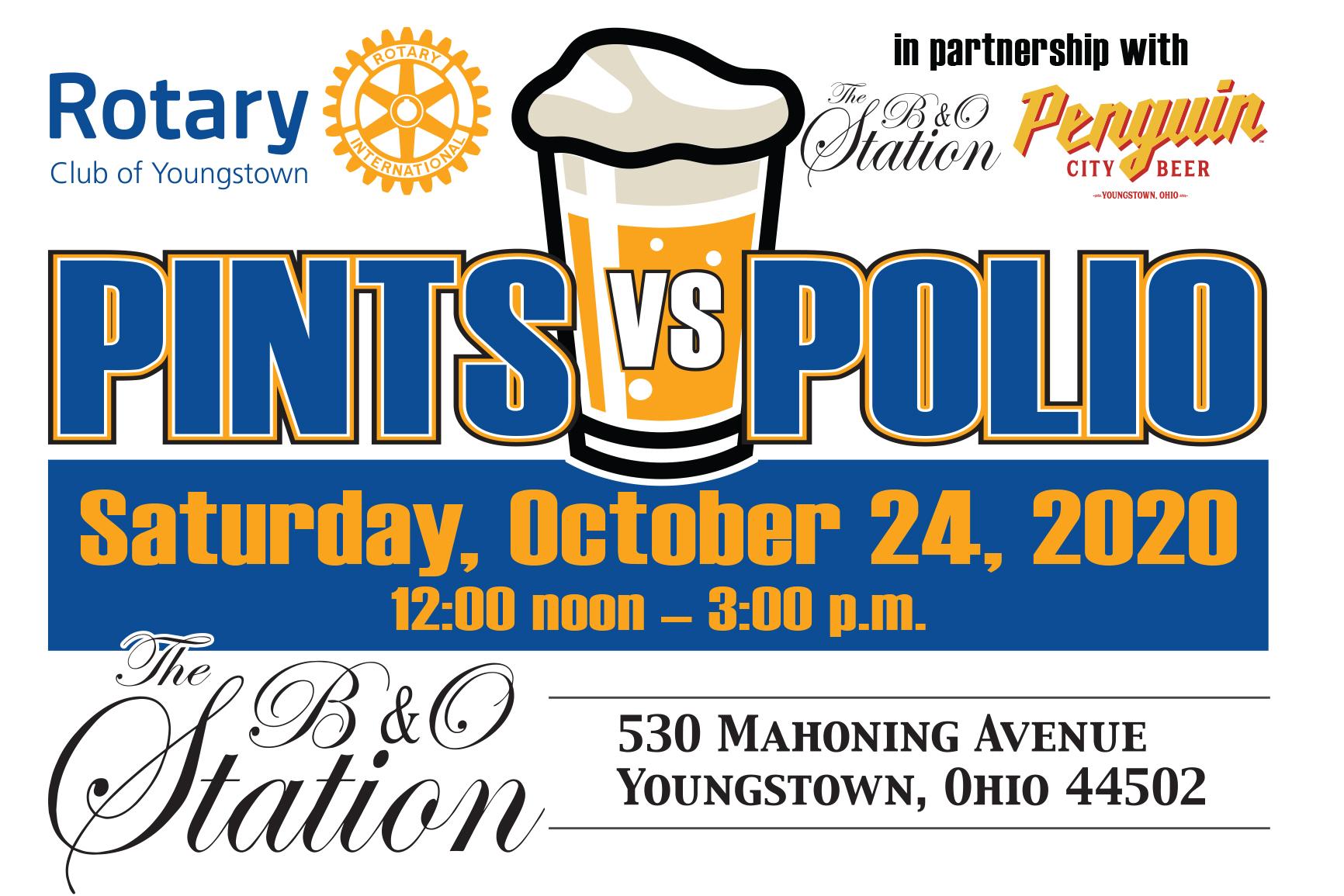 Pints vs Polio