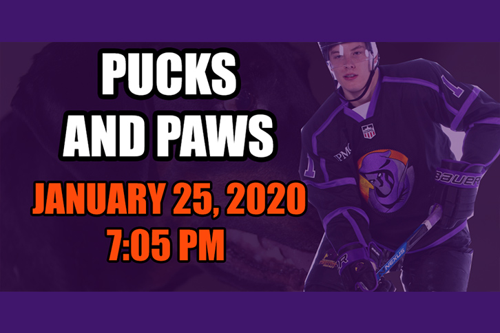 Pucks and Paws