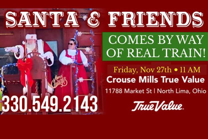 Santa Comes to North Lima