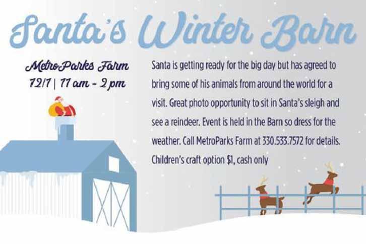 Santa's Winter Barn