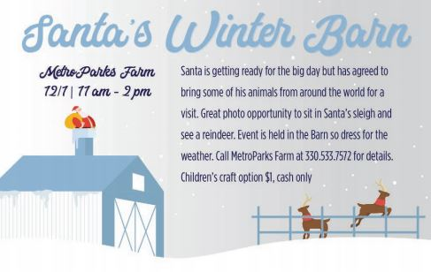 Santa's Winter Barn