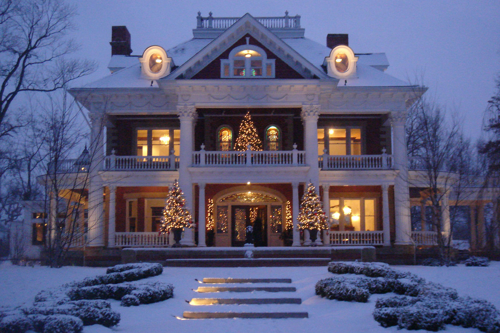 Sebring Mansion Inn Amp Spa Holiday Fireside Dinner