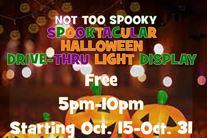 Spooktacular Halloween Drive-Thru Light Display