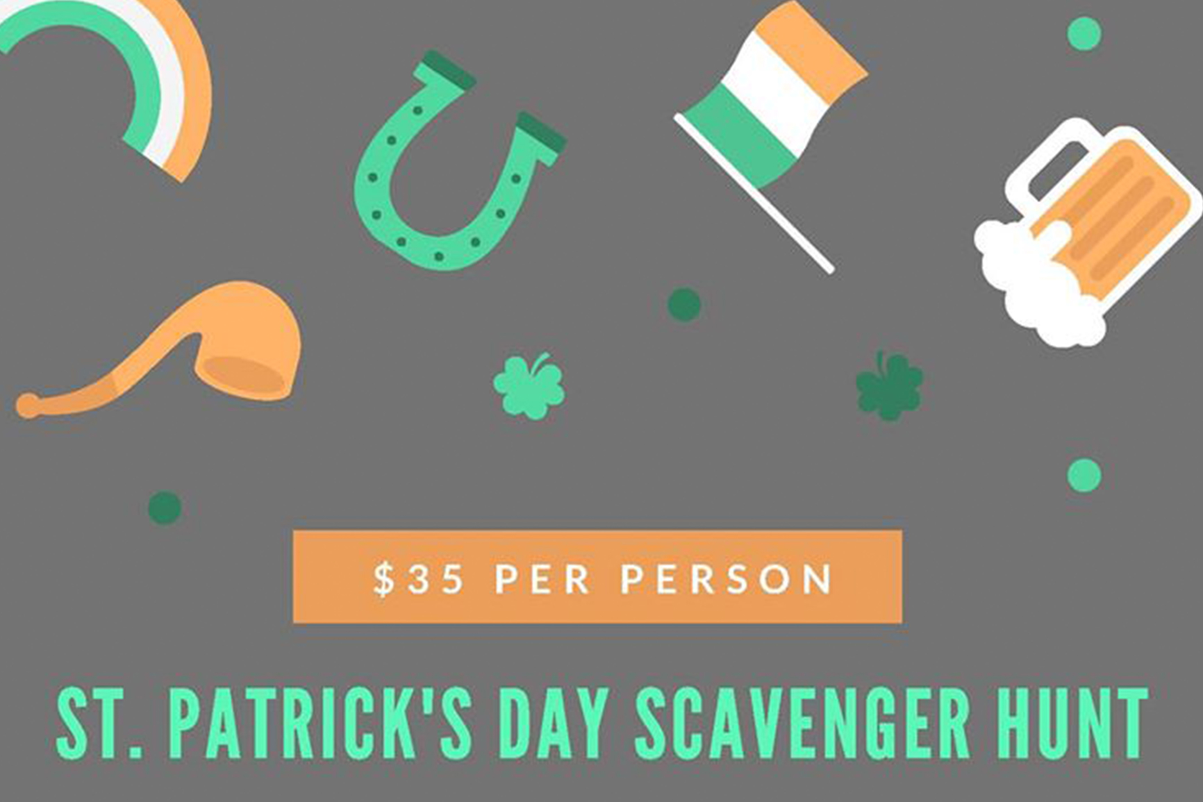 St. Patricks Day Scavenger Hunt