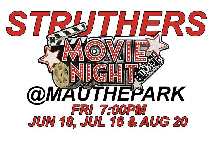 Struthers Movie Night Out