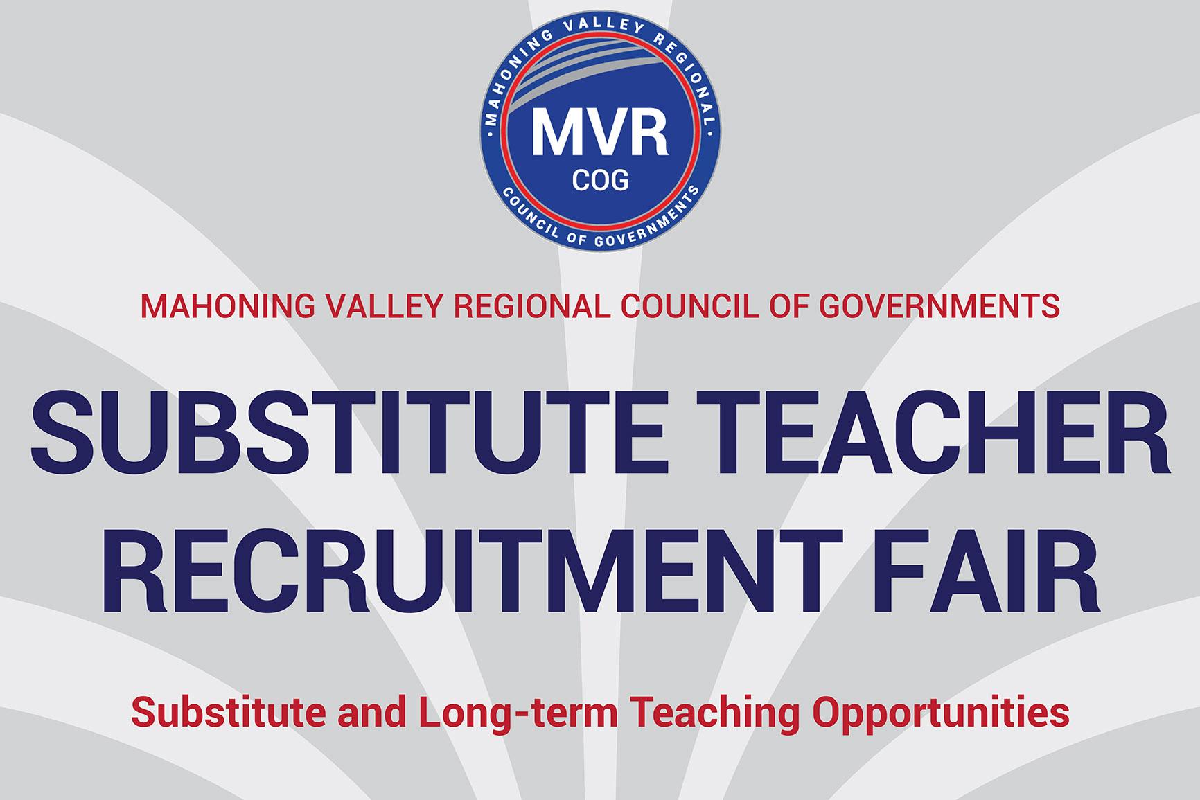 Substitute Teacher Recruitment Fair