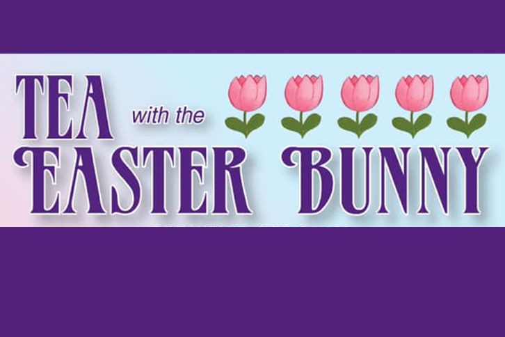 Tea with Easter Bunny