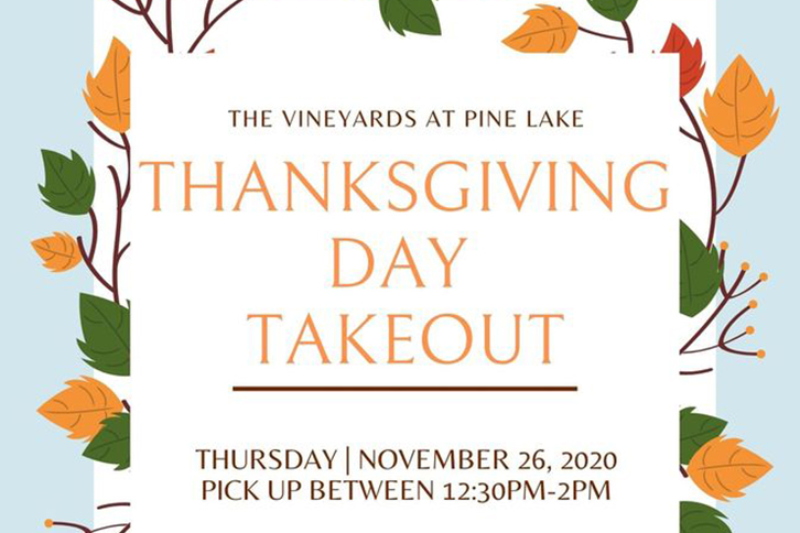 Thanksgiving Day Takeout