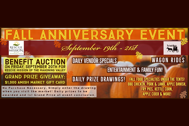 The Amish Market Fall Anniversary Event