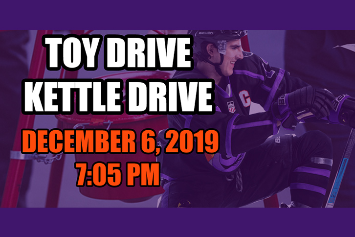 Toy Drive Kettle Drive