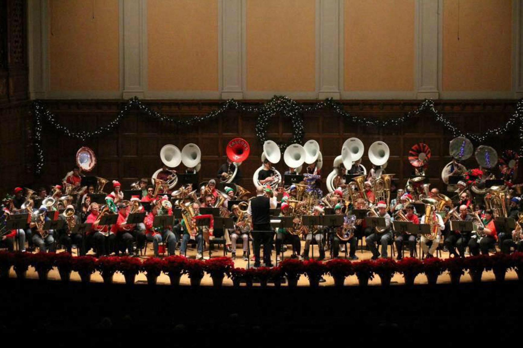 Tuba Christmas.Tuba Christmas Youngstown Live