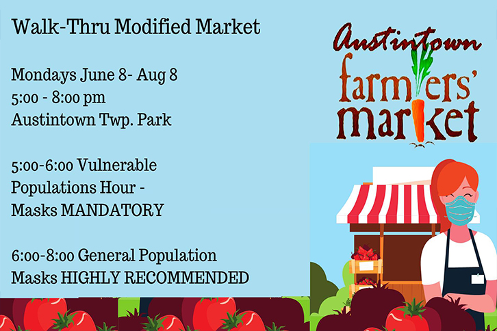 Walk-Through Austintown Farmers market