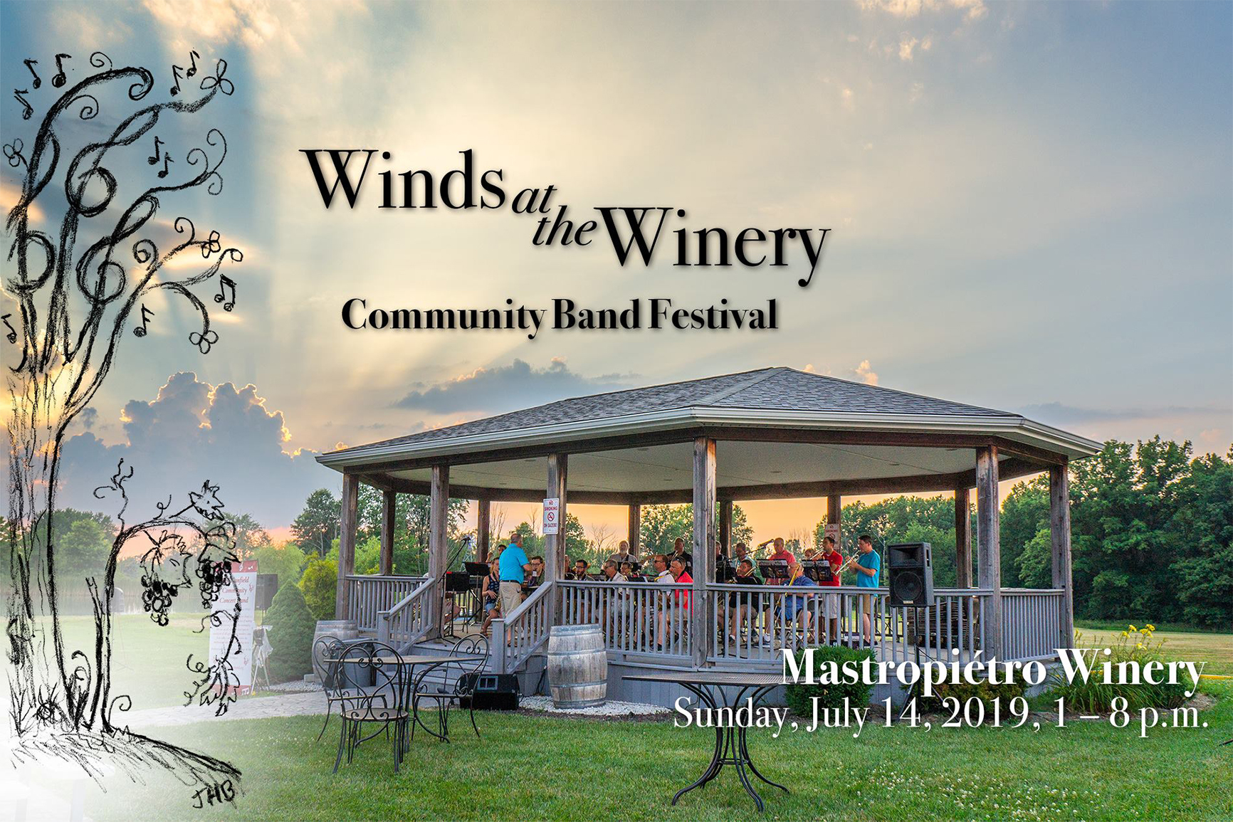 Winds at the Winery