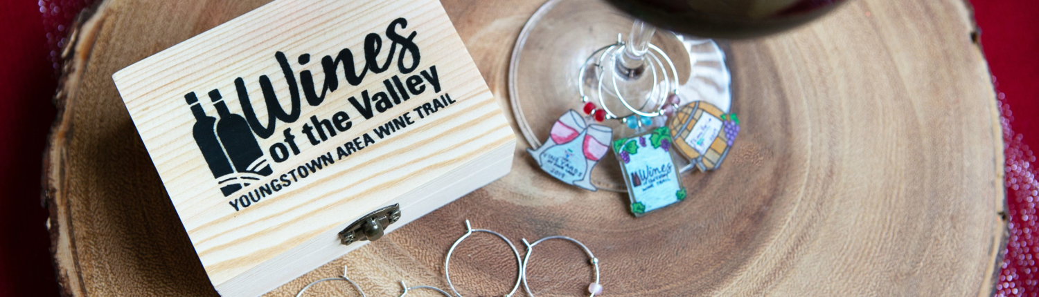 Wines of the Valley Wine Trail Charms