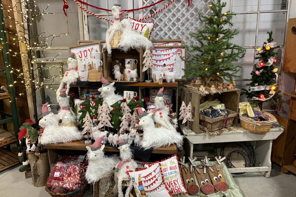 Winter Gift Barn