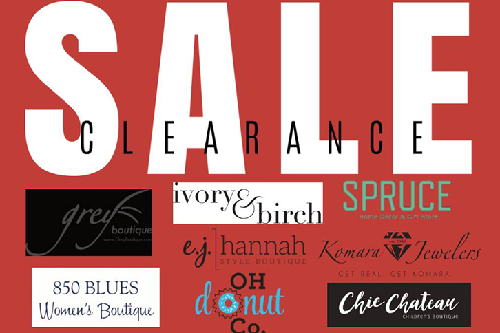 Youngstown Small Business Collaborative Clearance Sale