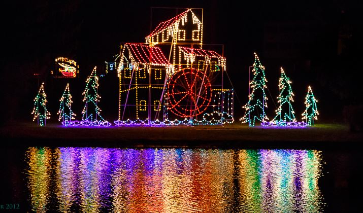 Joy of Christmas Light Display